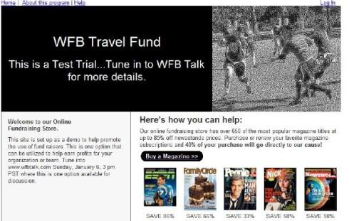 WFB Travel Fund