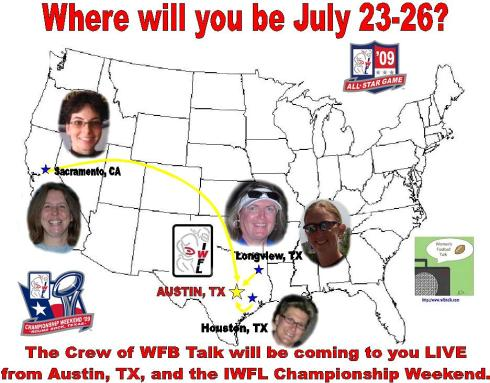 WFB Talk going to Austin