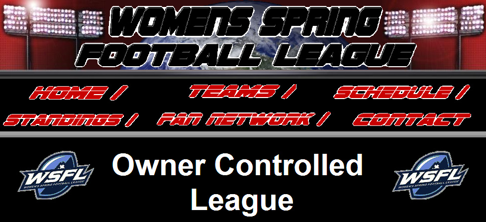 Women's Spring Football League